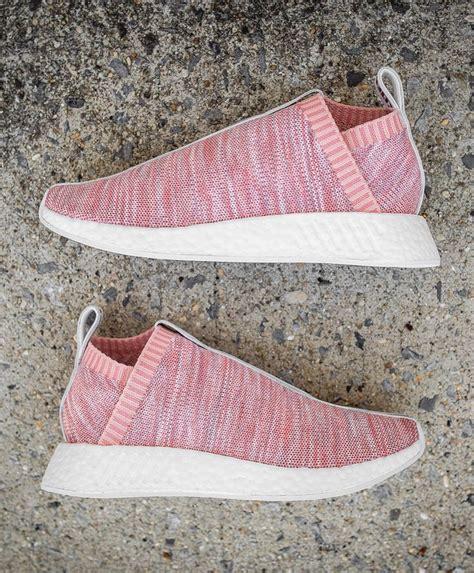 Kith X X Adidas Nmd City Sock 2 Pink Premium Original s sneakers x kith x adidas consortium nmd