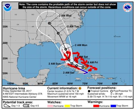 hurricane irma track shapefile for parts of florida hurricane irma offers a worst