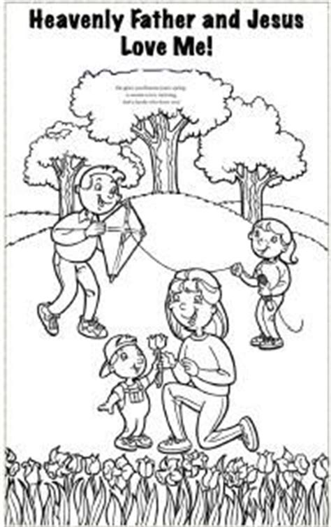 jesus loves me coloring page lds 92 best images about lds sunbeam lessons on pinterest