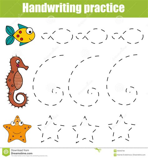 Colours Activity Learning Act Funlrn Col handwriting practice sheet educational children printable worksheet for with shapes