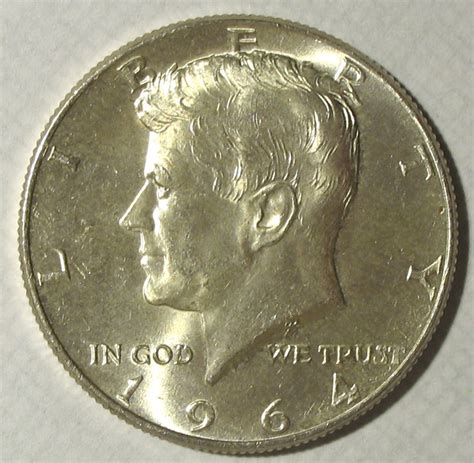 1964 kennedy half dollar uncirculated collectors weekly