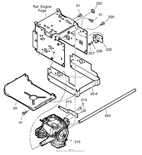 craftsman snowblower parts diagram murray 536 889253 craftsman dual stage snow thrower