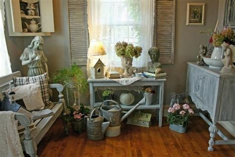 Garden Room Decor Ideas Shabby Chic Decorating Ideas Inspired By Beautiful Flowers And Gardens Decorations In Vintage Style