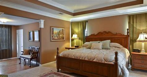 two tone tray br ceilings pinterest trey ceiling trays and paint ideas trey ceiling paint ideas with brown wall master bedroom