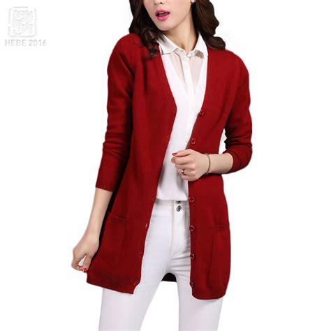Basic V Knitted Blouse Diskon 2017 2017 classic cardigans v neck fashion basic wool knitted pocket cardigan sheep wool