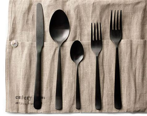 cool silverware almoco flatware cool material