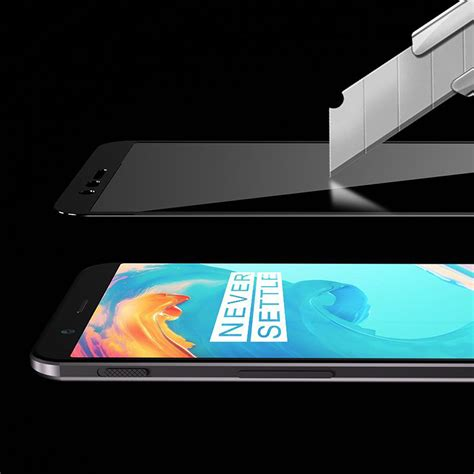 Tempered Glass Oneplus 5 5t Back Pro mocolo tempered glass screen protector oneplus 5t black