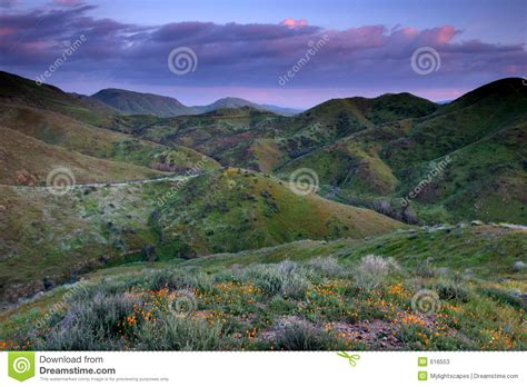 colorful hill colorful stock image image of hill landscape