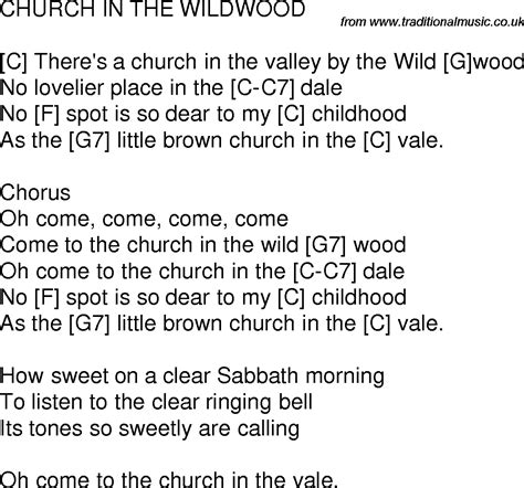 church in the wildwood song