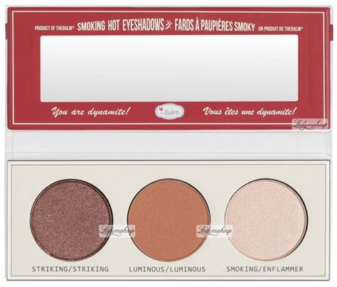 The Balm Smoke Balm With Foil I Avec Feville the balm smoke balm vol 4 foiled eyeshadow palette