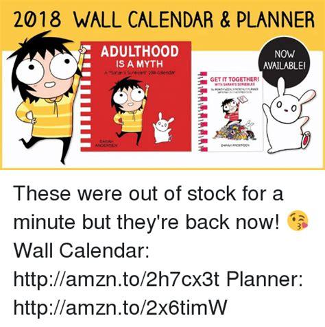 s scribbles 2018 wall calendar adulthood is a myth 25 best memes about sarahs scribbles sarahs scribbles memes
