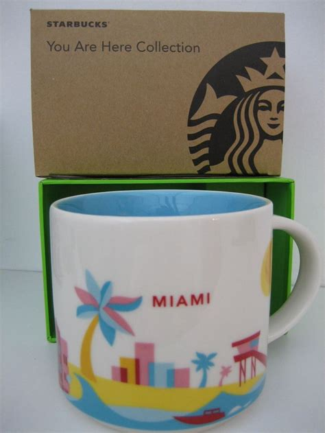 starbucks you are here collection starbucks miami you are here collection mug starbucks you are here complete collection