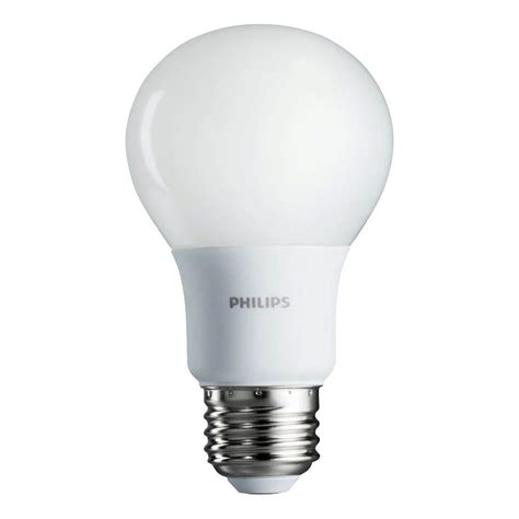 how to make an led light bulb philips 60w equivalent soft white a19 led light bulb 4 pack 461129 the home depot