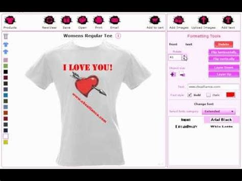 t shirt design maker youtube online custom t shirt design software and application tool