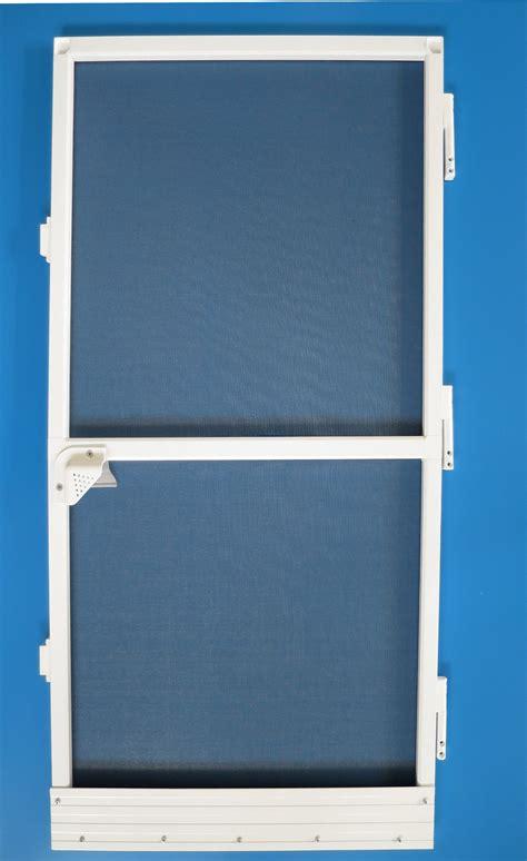 Screen Door Frame by Trustworthy China Supplier Aluminum Frame Roller Door With