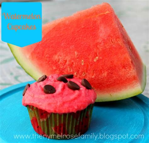 these watermelon cupcakes would be perfect for a picnic a collapsible watermelon cupcakes with watermelon buttercream frosting