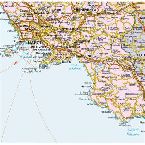 printable road map of sardinia road map of southern italy beautyinlife