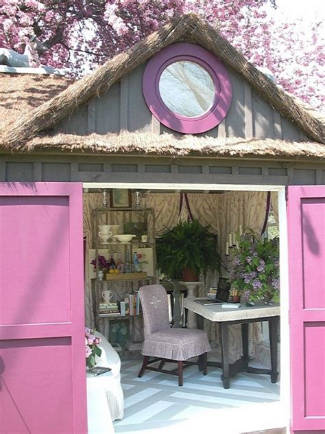 amazing  sheds  womans answer   man cave
