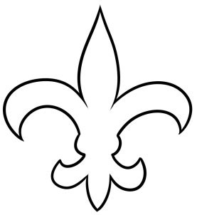 how to a new drawing printout how to draw new orleans saints