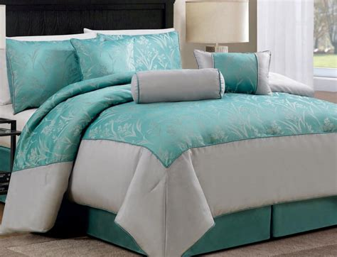 Aqua Comforter Set by Aqua And White Beddding Sets Funkthishouse Funk
