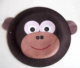 paper plate mask template crafts animal masks