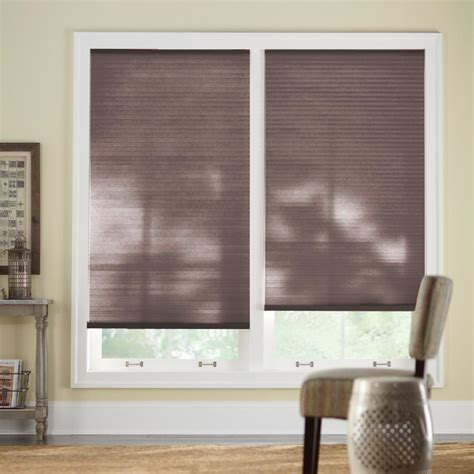 home decorators blinds home depot home decorators collection 57 in w x 72 in l chocolate