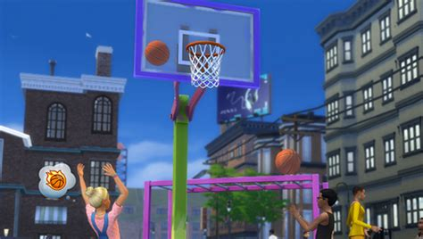 Sims 4 City Living Giveaway - the sims 4 city living basketball video clip simsvip