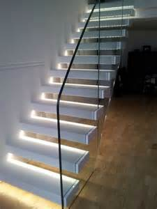 Lights For Stair Banisters by Wonderful Staircase Lighting Magic And Spells In The