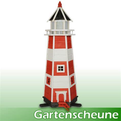 gartenscheune shop gro 223 er leuchtturm mit beleuchtung 1 40m rot weiss maxi