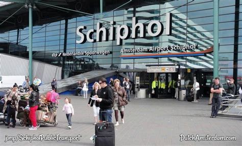 schiphol airport public transport to and from amsterdam schiphol airport