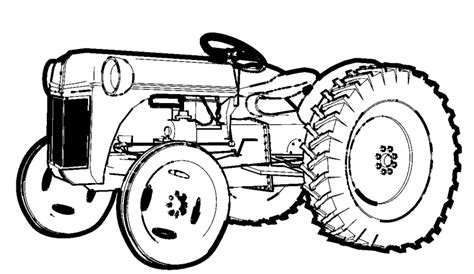 ford tractor coloring page free ford tractors coloring pages