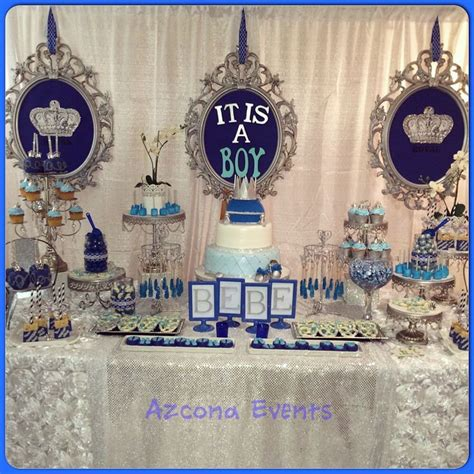 Royal Prince Themed Baby Shower Wholesale by Blue And Gold Cake Pops Big City Cake Pops