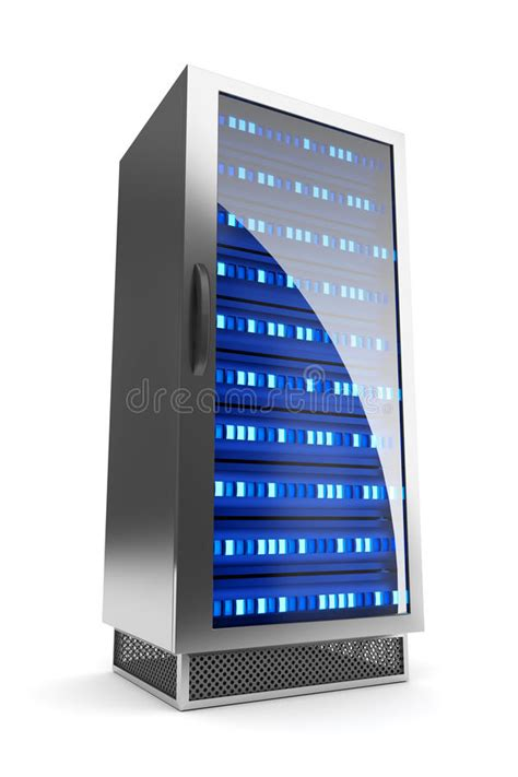 server rack icon stock illustration illustration  light