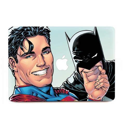 Macbook Aufkleber Superman by Superman Und Batman Selfie Macbook Skin Aufkleber