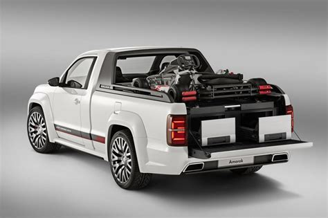volkswagen truck concept check out volkswagen s verboten amarok r style pickup