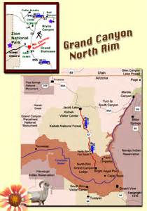 grand interactive map grand national park map