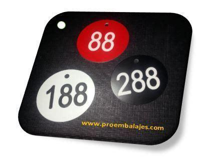 fichas numeradas guardarropa 100 fichas guardarropas blancas del 101 al 200