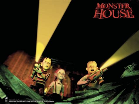 monster in my house my free wallpapers cartoons wallpaper monster house