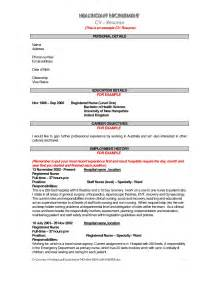 Resume Jobs Descriptions by Resume Job Description Resume Cover Letter Template