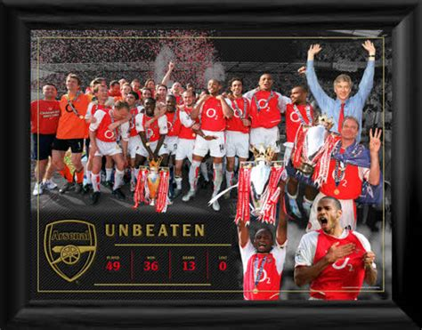 arsenal unbeaten squad uncle mike s musings a yankees blog and more 10 years