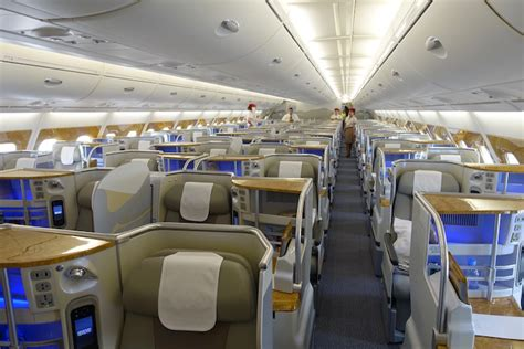 business class cabin emirates what s the best emirates a380 business class seat one