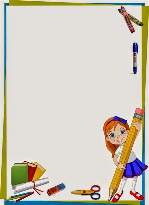 imagenes escolares lindas caratulas para cuadernos y trabajos caratulas infantiles