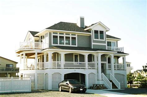 ocean front house plans beachfront california style coastal house plans home