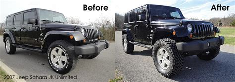 Jeep Jk Wheel Spacers Before And After My Pics Before And After Teraflex Lift And 35 S