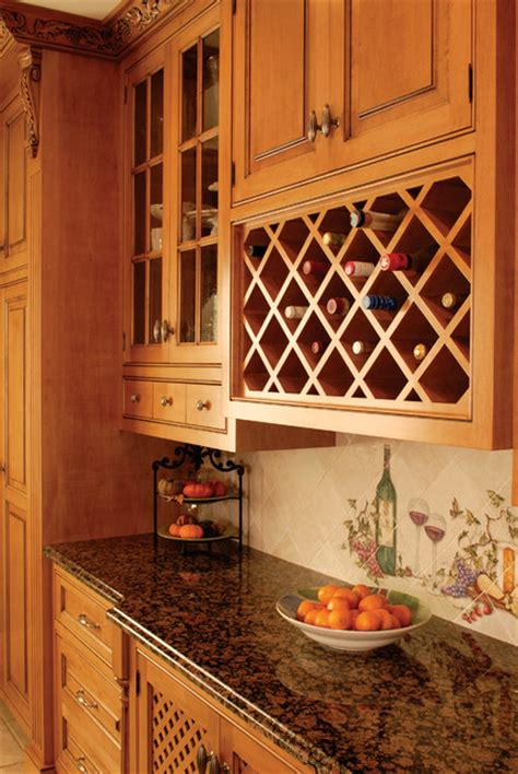 wine rack traditional kitchen new york by east end