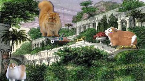 imagenes de los jardines de babilonia paseo por los jardines colgantes de babilonia youtube