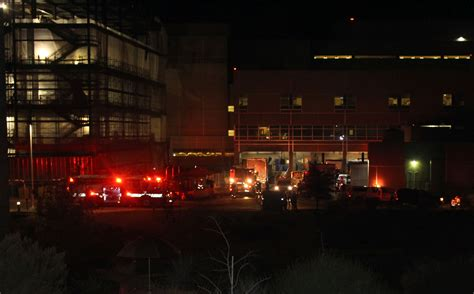 st george emergency room breaks out in paper shredding truck parked at hospital cedar city news