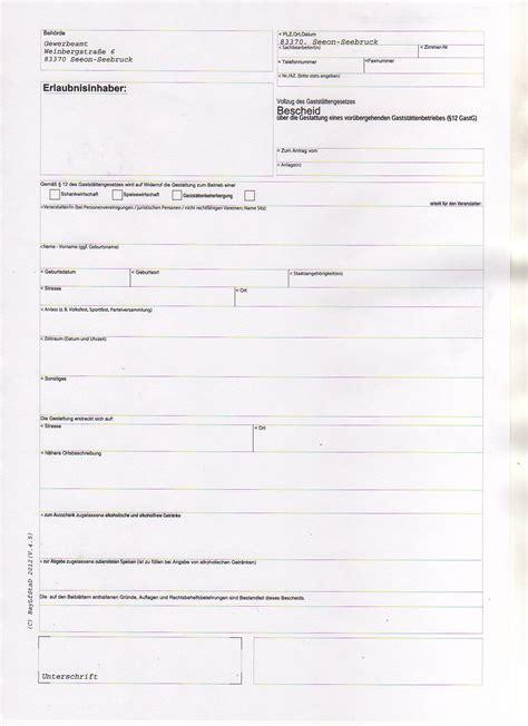 Antrag Führungszeugnis Vorlage Formulare Formulare Gemeinde B 252 Rgerservice Rathaus Virtuelles Rathaus Der Gemeinde