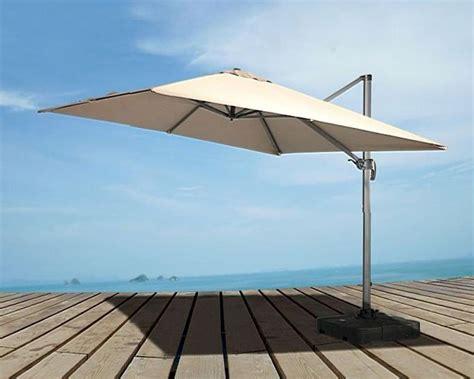 modern patio umbrella w base 44p035