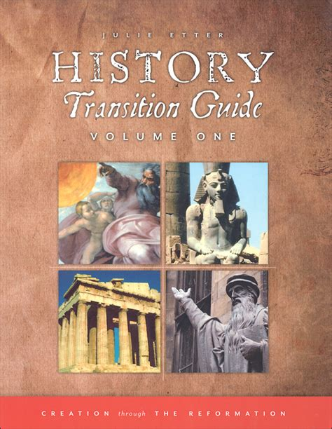 Transition Volume 1 history transition guide volume 1 050642 details